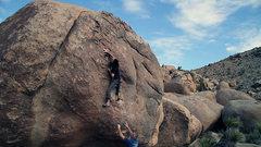 Rock Climbing Photo: Alexandria - V7 Joshua Tree, CA