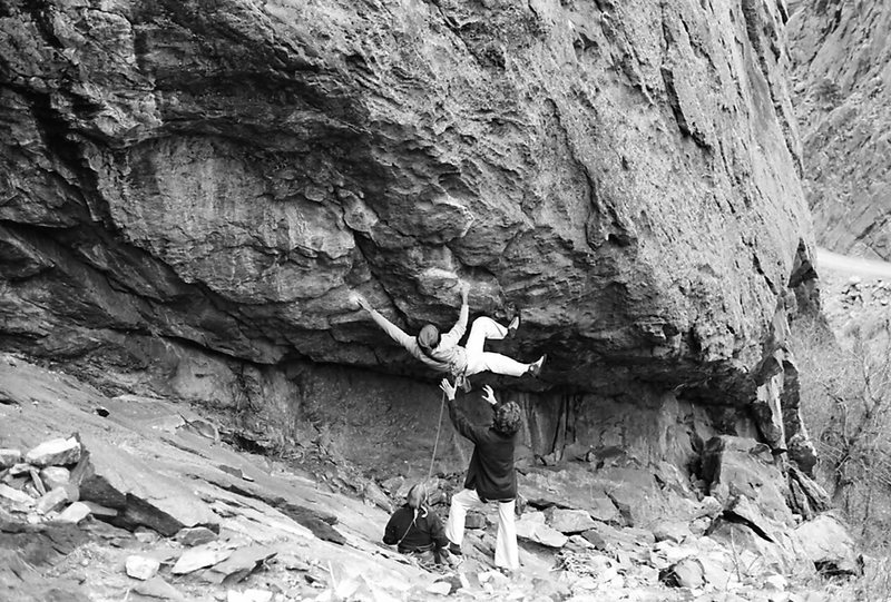 Rock Climbing Photo: old T-2 photo
