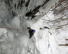 Rock Climbing Photo: Stony Clove's West Side, January 2013
