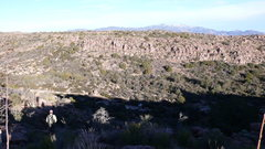 Rock Climbing Photo: The parking spot by the new trail in to LDE from t...