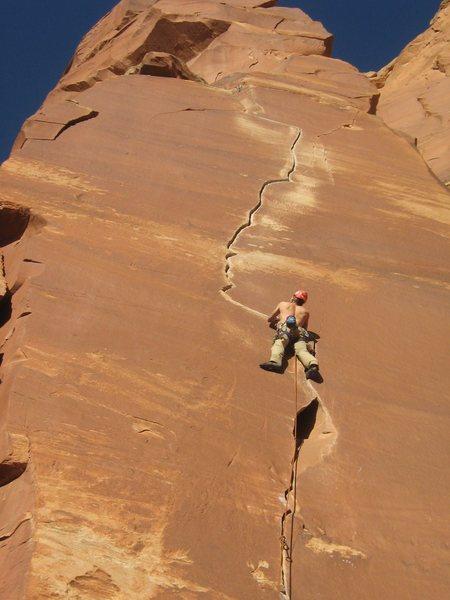 Rock Climbing Photo: Dedy on Way Rambo