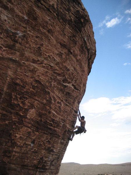 """New Wave Hookers"" @ Cannibal Crag. Superb 5.12"