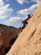 Rock Climbing Photo: 5.7 lead on sight