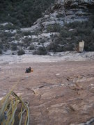 """Rock Climbing Photo: From top of pitch one of """"Rock Warrior"""" ..."""