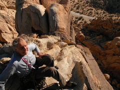 Rock Climbing Photo: The old master atop another fine summit
