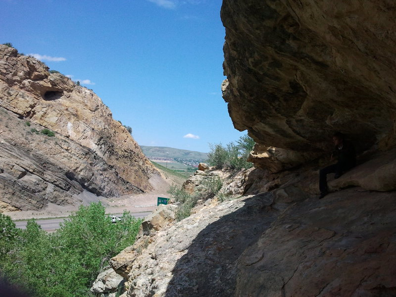 Rock Climbing Photo: I-280