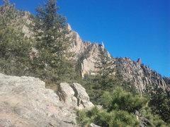 Rock Climbing Photo: Shirt tail/Potato chip