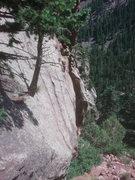 Rock Climbing Photo: view across the wall