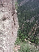 Rock Climbing Photo: Across the wall