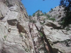 Rock Climbing Photo: Red Garden Wall