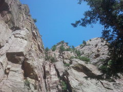 Rock Climbing Photo: In the center is Lumpe Tower, on right is Tower On...