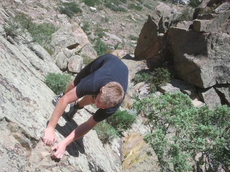 Morrison Climbing