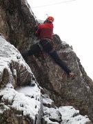 Rock Climbing Photo: The roof.