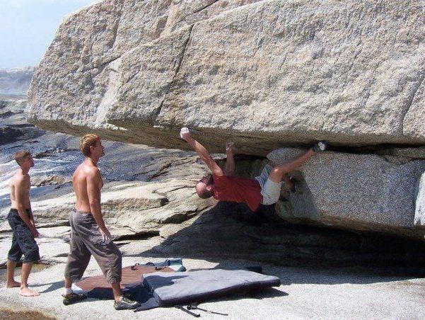 Nova Scotia bouldering