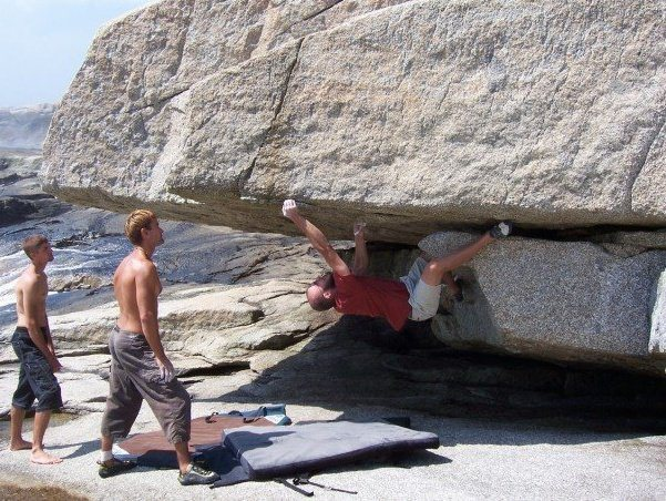Rock Climbing Photo: Nova Scotia bouldering