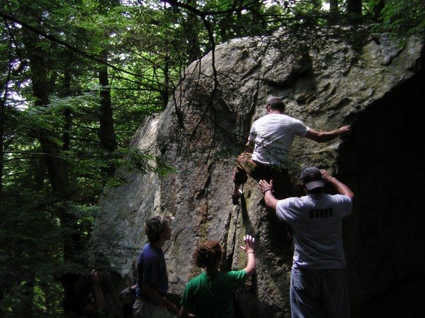 Rock Climbing Photo: Pawtuckaway