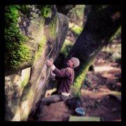 Rock Climbing Photo: Hueco Wall
