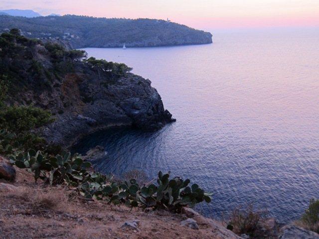 Rock Climbing Photo: View from the Port de Sóller crag