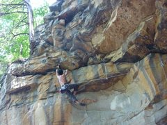 Rock Climbing Photo: rock seems solid...