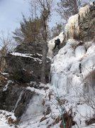 Rock Climbing Photo: Ryan Barber getting juiced on V8