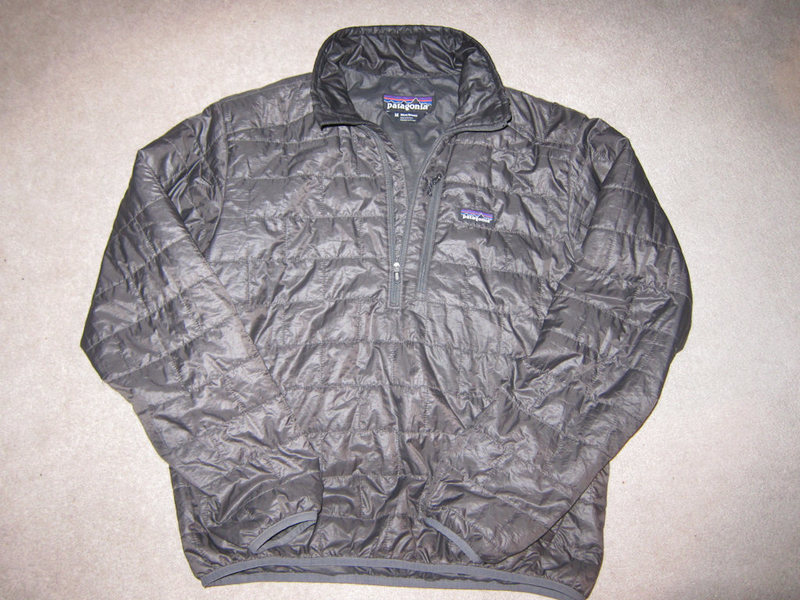 Patagonia Men's Nano Puff Pullover size M Forge Grey