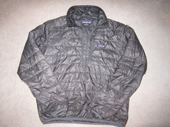 Rock Climbing Photo: Patagonia Men's Nano Puff Pullover size M Forge Gr...