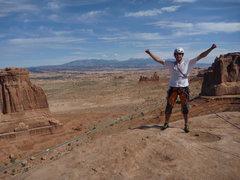 Rock Climbing Photo: Top of three gossips