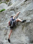 Rock Climbing Photo: KG on Fern Bar