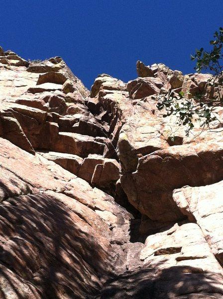 Rock Climbing Photo: Paydirt