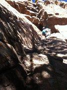 Rock Climbing Photo: FA Paydirt