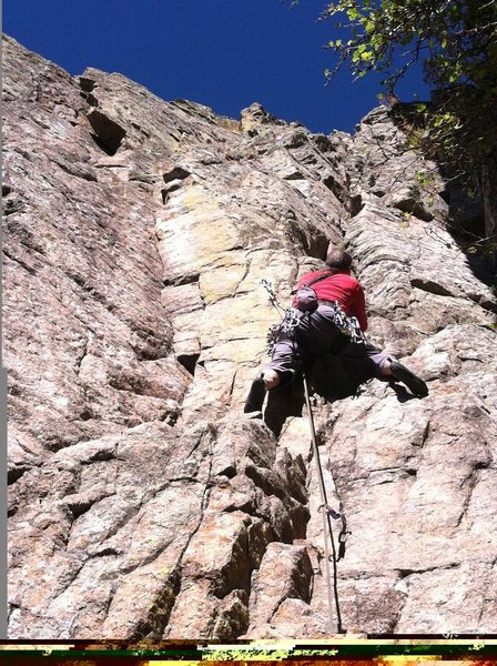 Rock Climbing Photo: End of my Rope, FA