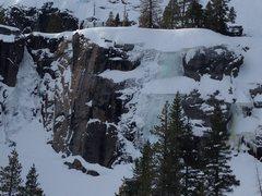Rock Climbing Photo: Cold Stream - Left Cold Scream - Right