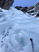 Rock Climbing Photo: Cold Stream flow