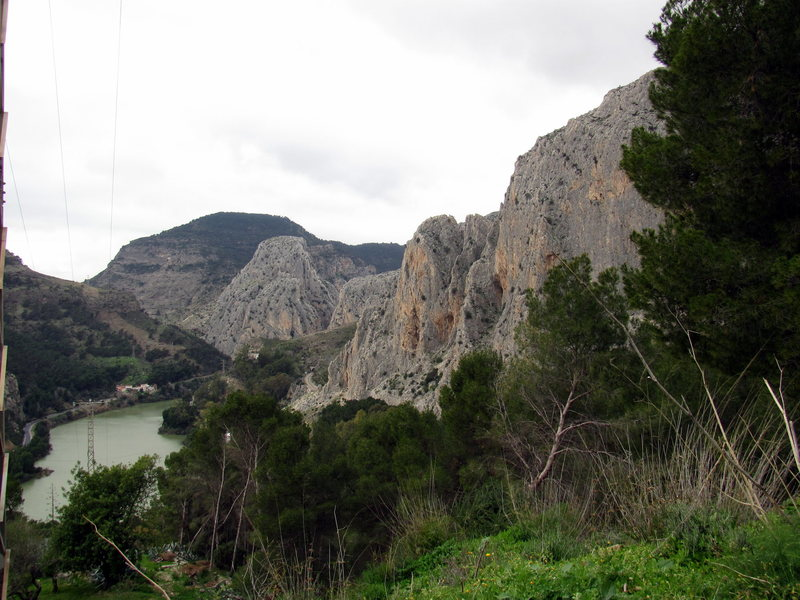 The Frontales sector of El Chorro, Spain