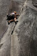 Rock Climbing Photo: Penny Lane - Smoke Bluffs - Squamish, BC - 5.9