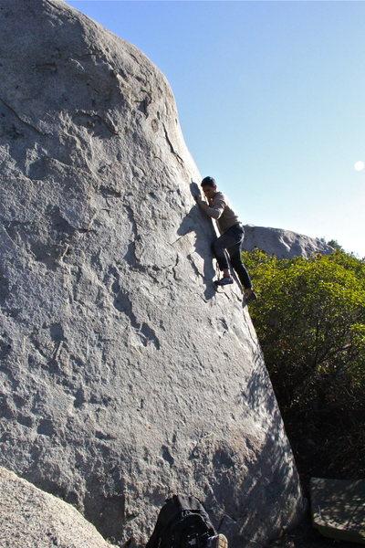 Rock Climbing Photo: American Express 5.9