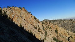 Rock Climbing Photo: Hawk-Eagle from the Anthill top out.