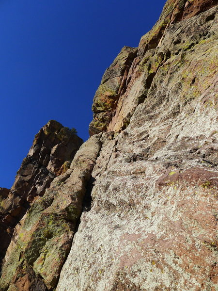 Rock Climbing Photo: The Anthill Original/Direct split (Direct goes up ...