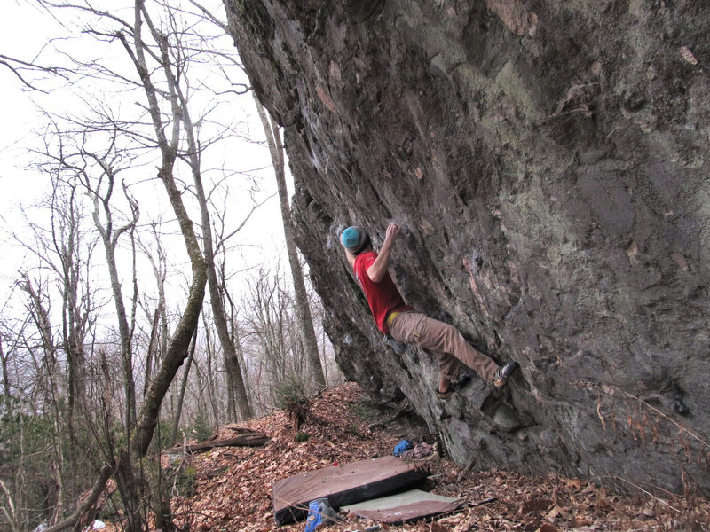 "Rock Climbing Photo: Aaron James Parlier on the of ""String Theory&..."