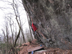 """Rock Climbing Photo: Aaron James Parlier on the of """"String Theory&..."""