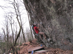 """Rock Climbing Photo: Aaron James Parlier on the FA of """"String Theo..."""