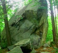 Rock Climbing Photo: The boulder @ Exeter Rinks.
