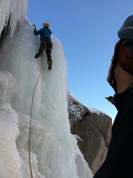 Rock Climbing Photo: Upper Pillar in excellent conditions