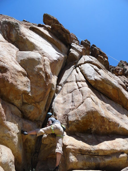 Rock Climbing Photo: Getting started.