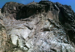 Rock Climbing Photo: Wall just downstream of the Pioneer Point trail.  ...