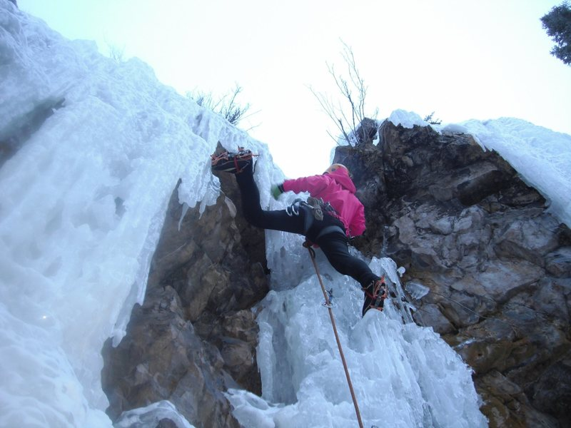 Colorado ice climbing