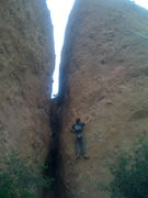 Rock Climbing Photo: Pretty fun 5.10d just to the right of the Corvis C...