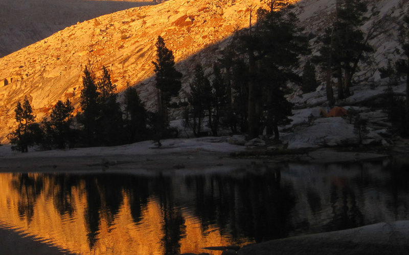 Sunset at Pear Lake