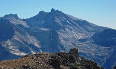 Rock Climbing Photo: Black Kaweah seen from Winter Alta.