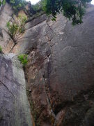 Rock Climbing Photo: Supercrack 5.11+
